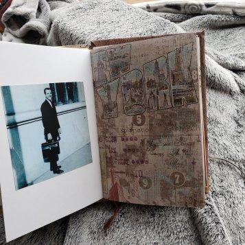 Inside my sister's memorial book